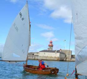 Irish champion George Miller competing in Dun Laoghaire