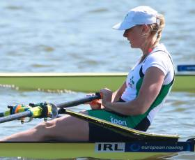 Puspure Battles Through Waves to Qualify for Olympic Rowing Quarter-Finals