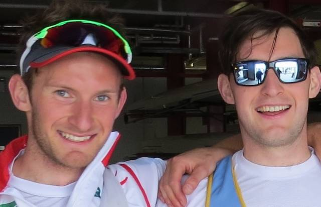 Gold for O'Donovans at World Cup Regatta in Lucerne