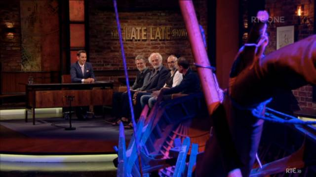 Glen Hansard & Crew Talk Camino Voyage On Late Late Show