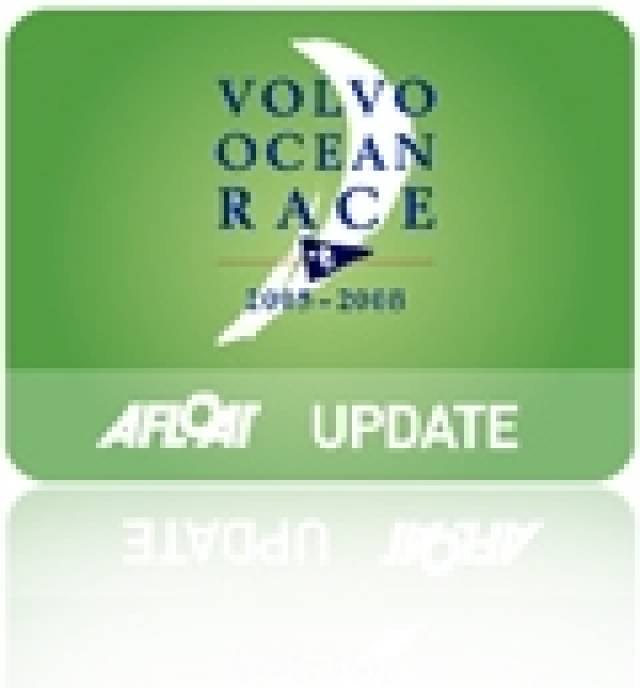 Volvo Ocean Race Yacht Chinese Gybe Video