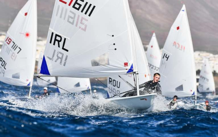 Lanzarote's Lighter Winds Frustrate Irish Olympic Sailors on Penultimate Day of Winter Series