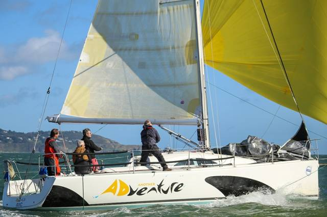 The Archambault 35 Another Adventure (Darragh Cafferky) from Wicklow is one of 54 boats competing in the Irish Sea Offshore (ISORA) series