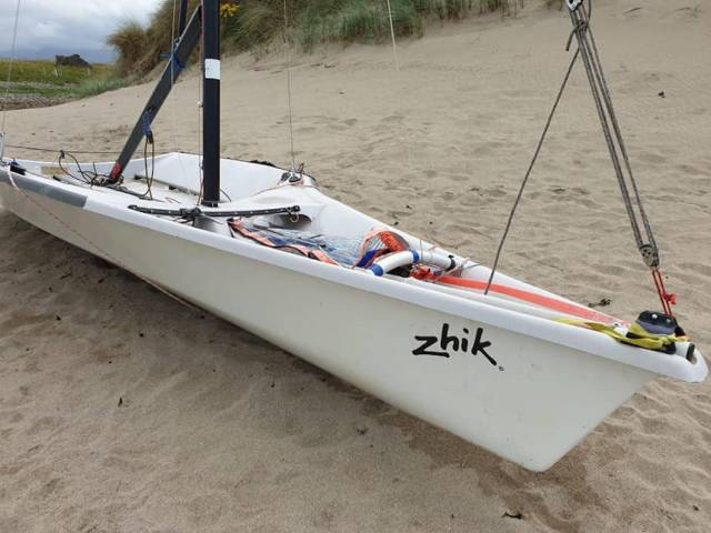 New Owners To Retrieve 'Mystery' 29er Washed Up On Mayo Beach