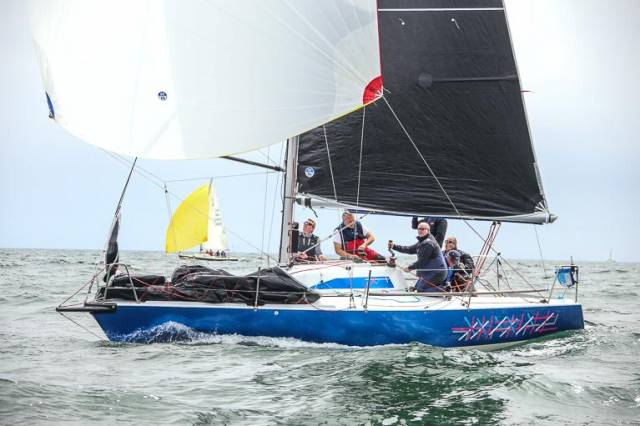 Overall Wave Regatta winner Checkmate XV. Skipper Dave Cullen of HYC said 'Our new 3Di RAW main is a thing of beauty and we were flying at the weekend!'