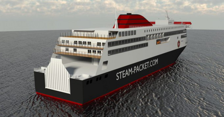 Plans for Isle of Man Newbuild 'Manxman' Design Progressing Well Says Steam-Packet