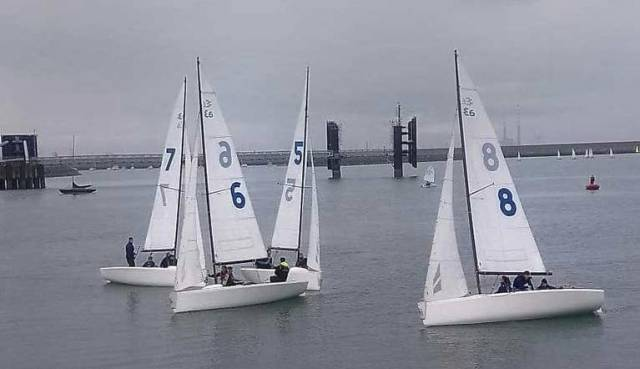 The National Yacht Club's new fleet of Elliott 6m Sportsboats will be used for the new match racing series