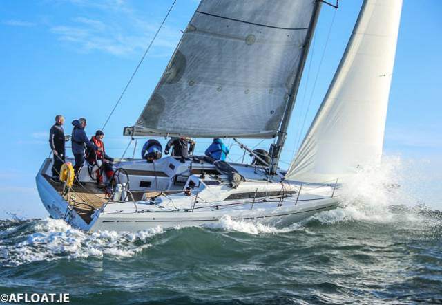 Great Mix of Yacht Designs for DBSC Turkey Shoot's Record Turnout on Dublin Bay