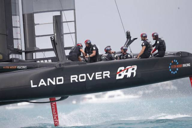Land Rover BAR came up short against Emirates Team New Zealand, who currently lead the America's Cup match series against defending champions Oracle Team USA