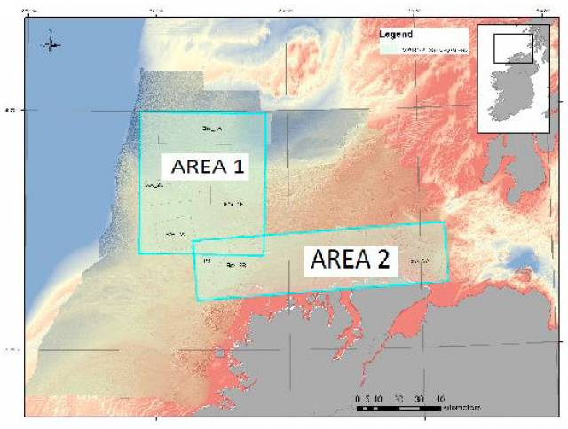 Geophysical Research Survey Off North West Coast In May