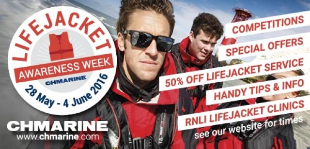 CH Marine's Life Jacket Awareness Week Includes RNLI Safe Check