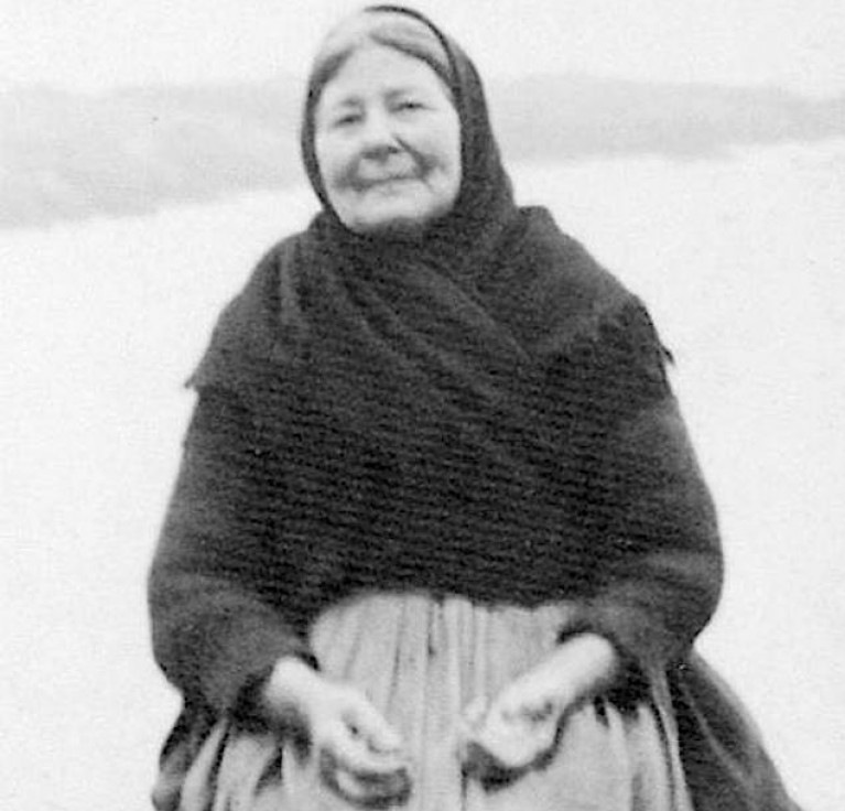 One of the Great Blasket's best-known residents, Peig Sayers
