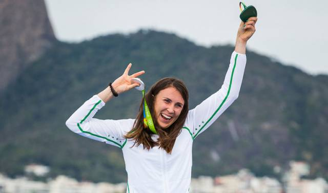 Olympic Medallist Annalise Murphy Withdraws From Laser Radial Women's World Championships With Injury