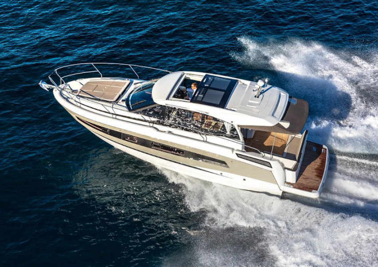 The Jeanneau NC 37 is designed for living life at sea in absolute comfort