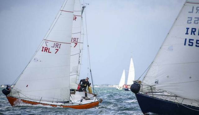 Ruffian 23 racing on Dublin Bay. Results below.