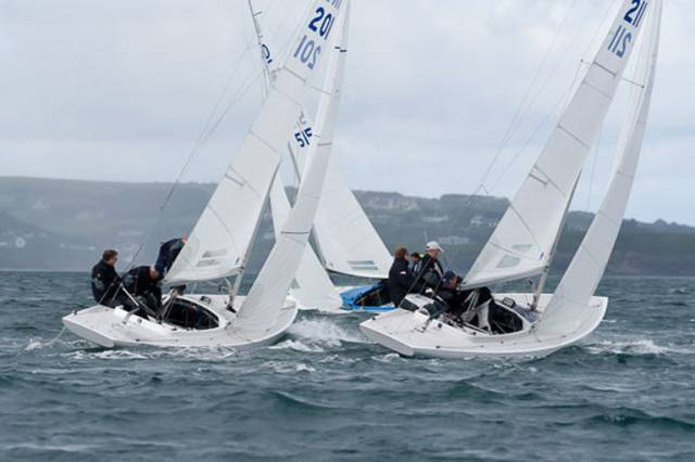 Ten Dragons contested the East Coast Championships at the Royal Irish Yacht Club