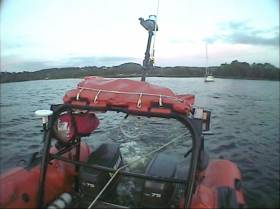 Lough Derg RNLI Lifeboat Assists Two Sailors on Yacht Aground