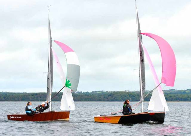 Ross & Jane Kearney Win Irish GP14 Nationals at Sligo Yacht Club
