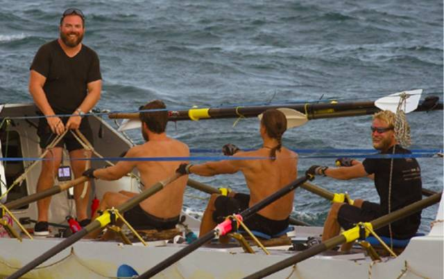 Team Takes on Impossible Row