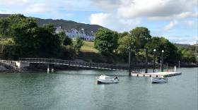 Schull's new North Harbour pontoon has been completed ahead of schedule