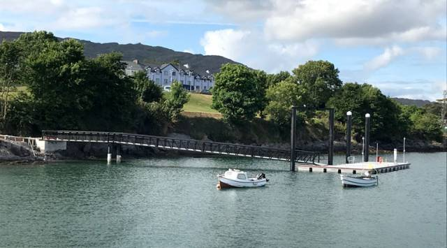 Schull Harbour Pontoon Completed in Time for West Cork's Calves Week Regatta