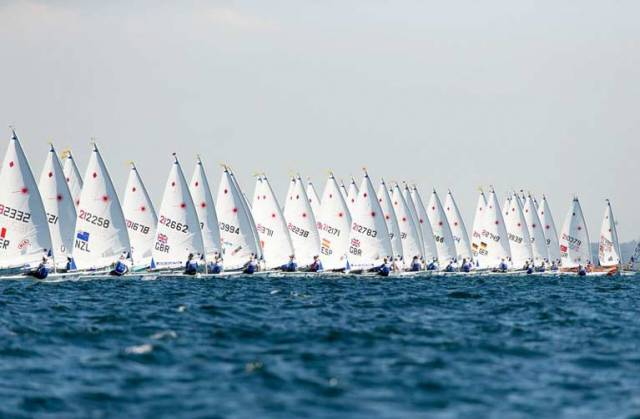 A start in the women's Laser Radial class at the World Championships, a fleet in which Ireland has fielded two competitors