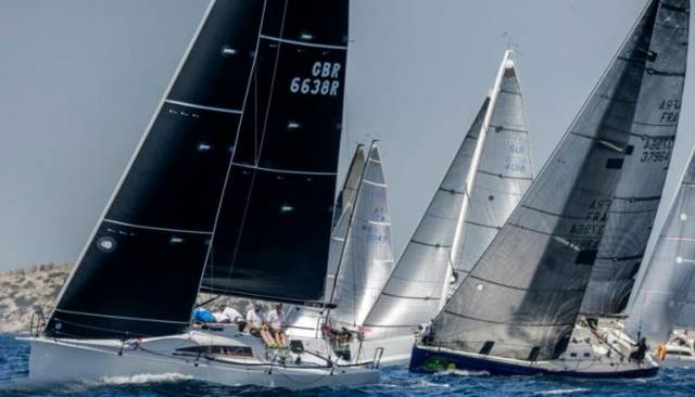 Simon Henning's Alice led the three Farr 36s in IRC Three