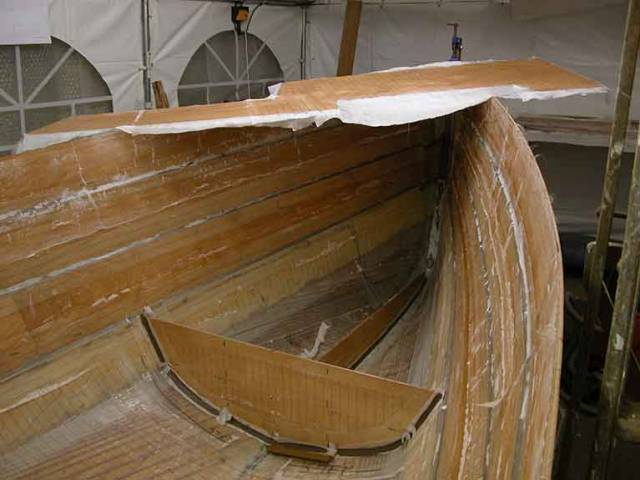 Building a wooden sailing boat using WEST epoxy