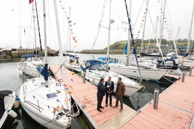 The new 40–berth Bantry Harbour Marina is among the facilities being marketed to potential visitors at the Southampton Boat Show over the next week