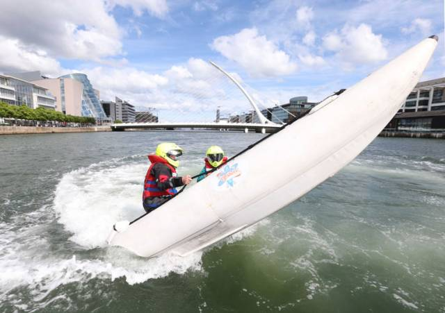 The UK ThunderCats power boats will be headlining the event with their first ever Dublin performance