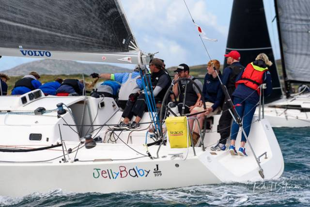 Calves Week Win for J109 'Jelly Baby' Crew in Spectacular Day Two (Photo Gallery Below!)