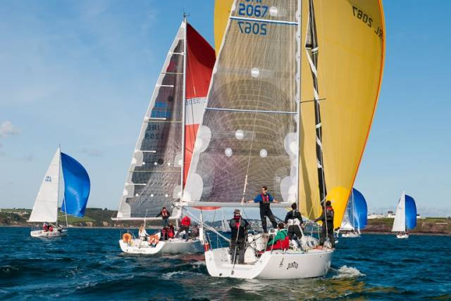 J/109 Justus lies third in IRC one of the CH Marine sponsored Autumn League. Scroll down for photo gallery