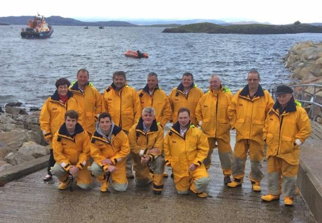 The Arranmore lifeboat crew is a community affair