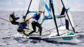 Royal Irish Yacht Club's Saskia Tidey Continues to Lead Team GB 49erFX Hopes in Palma