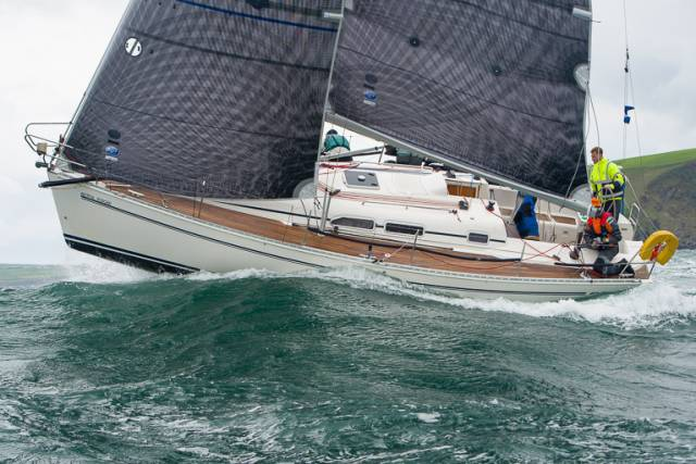 Artful Dodger from Kinsale Yacht Club is a competitor in today's ICRA championships.. Four major national titles will be decided this weekend in Cork Harbour