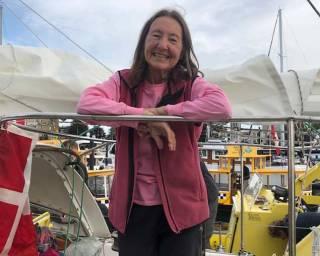 Solo sailor Jeanne Socrates
