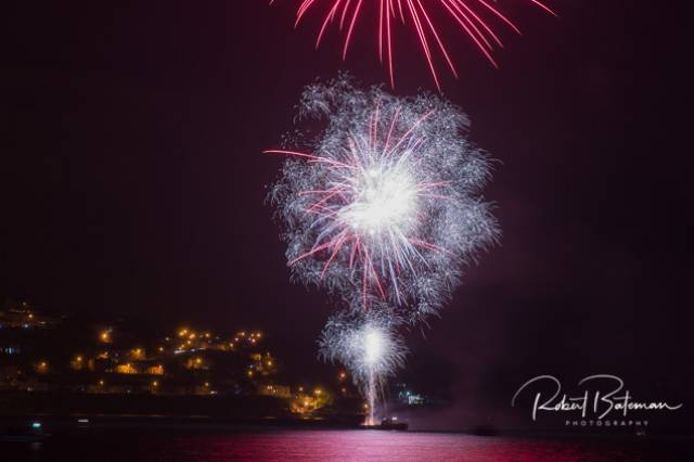 Fireworks for the Cobh Peoples Regatta