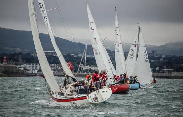 Carrickfergus Ruffian 23 Wins National Title at Royal St. George Yacht Club
